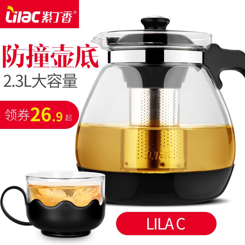 大容量茶壶过滤玻璃