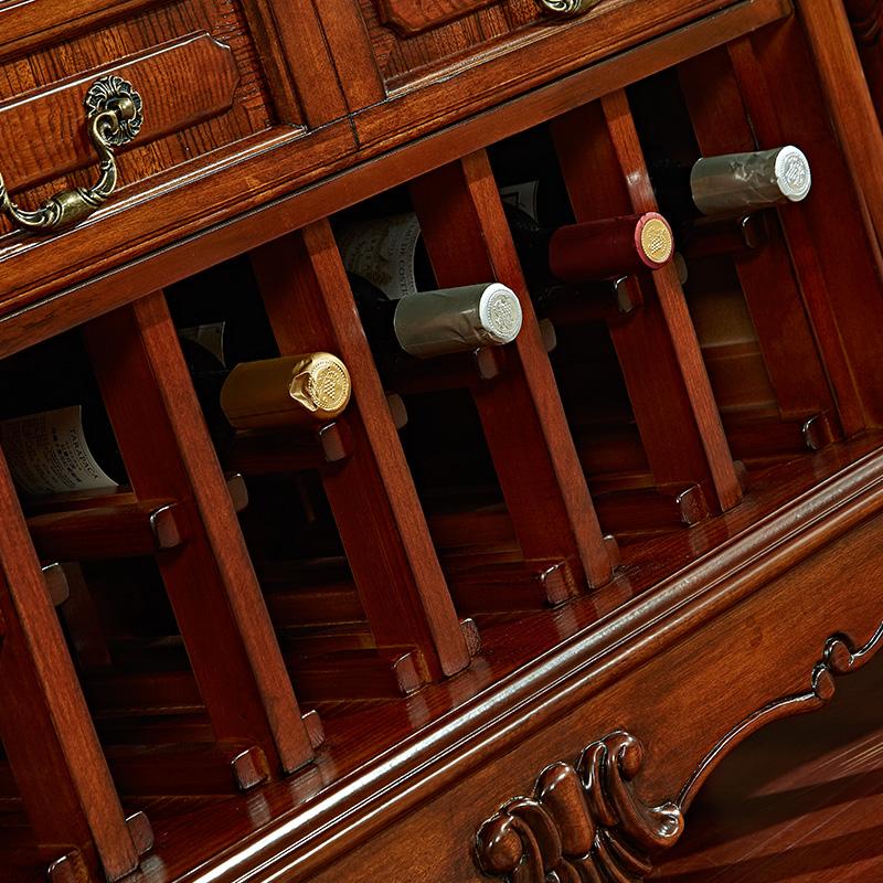 格澜帝尔简美式实木电视柜