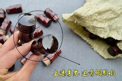 字画装裱材料 实木竹节轴头带把裱画2.3口径纸管地杆专用包邮