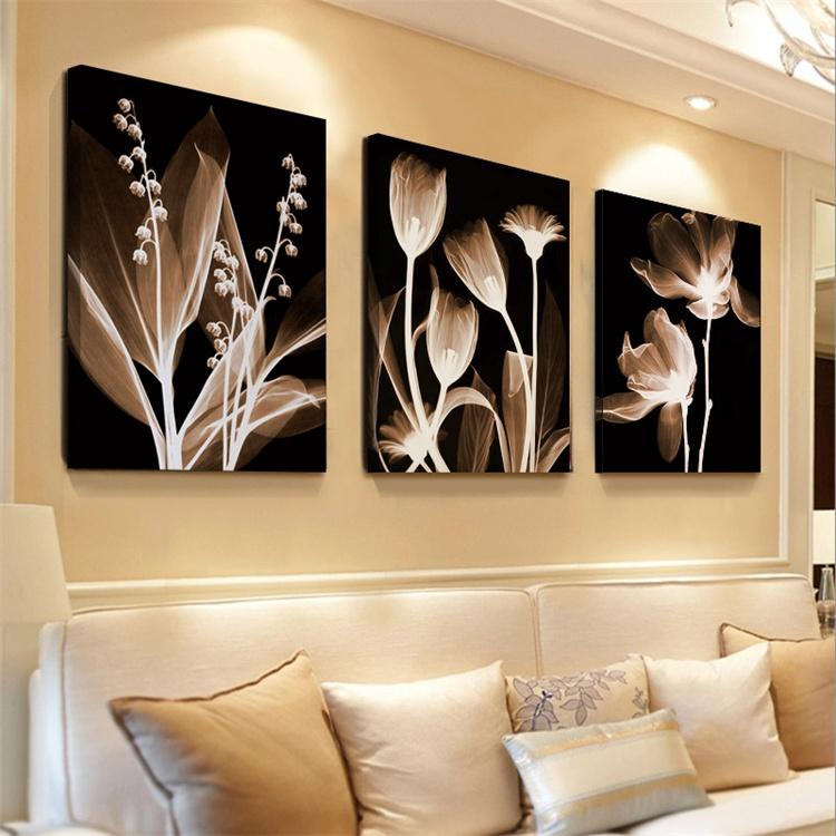欧式沙发墙壁画