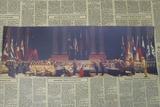 牛皮纸客厅复古怀旧历史装饰画招贴抗战战争海报日本向中国投降