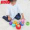 费雪婴儿数字动物认知球手抓球宝宝训练球皮球玩具球套装3-12个月
