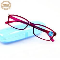 TR90超轻老花镜新款树脂防蓝光老视镜便携简约胶框眼镜男女通用