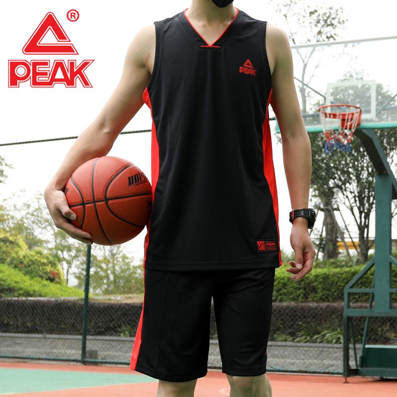 匹克运动篮球服男2019新款宽松透气吸汗速干球服男士学生篮球套装