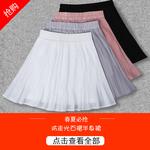 褶皱半身裙短裙