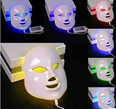 LED彩光面膜红蓝绿光祛痘彩光面罩电子美容仪器家商用光子嫩肤仪2018新款