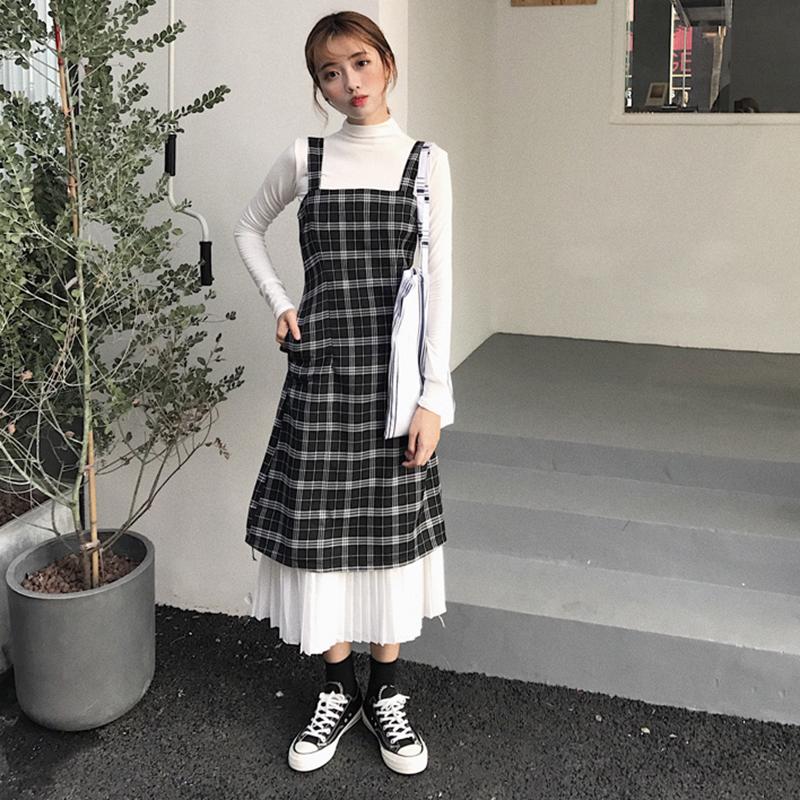 秋装女上连衣裙长袖