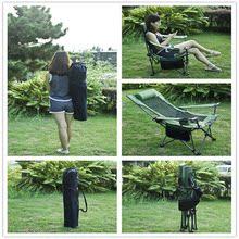 户外折叠椅躺椅便携式靠背休闲椅沙滩椅椅子午睡午休床椅