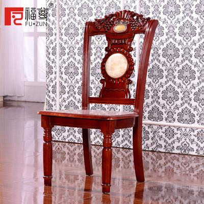 福尊家具 家居餐椅 现代简约餐厅风格 实木框架 镶嵌大理石装饰评价好不好