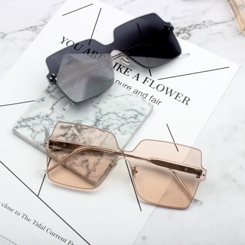 男士大镜片太阳眼镜