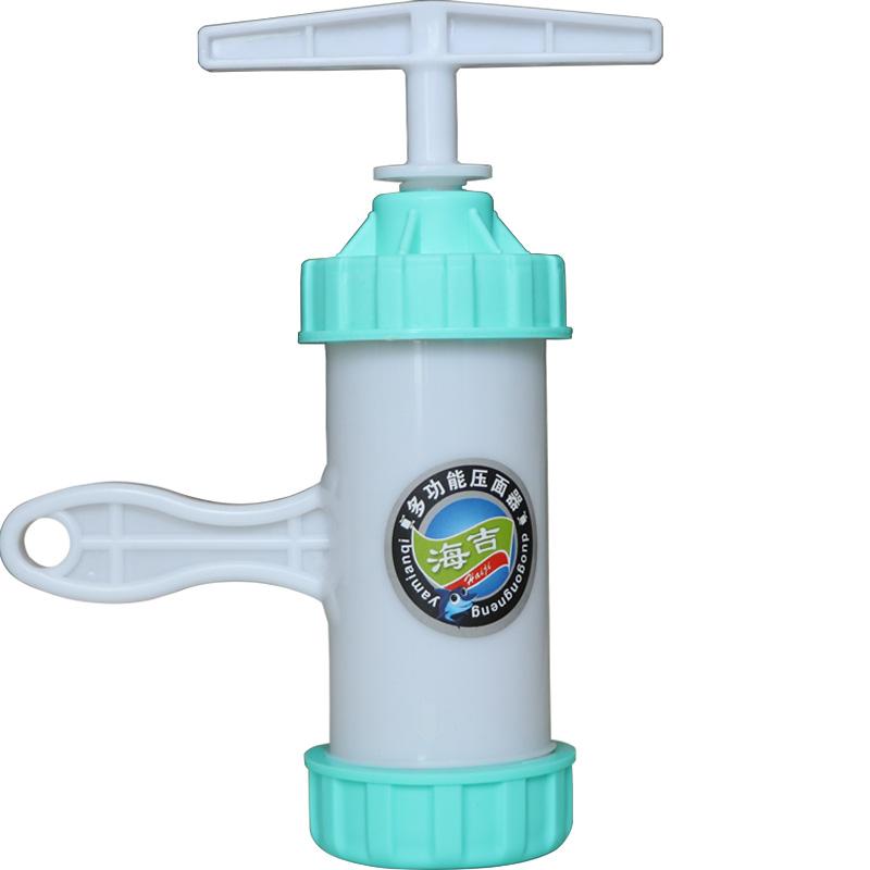 8模 压不坏大面桶塑料压面机家用手动河捞机手摇饸饹机莜面窝窝器