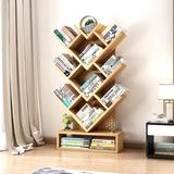 树形书架置物架简约现代创意儿童书架储物架客厅卧室简易书架落地