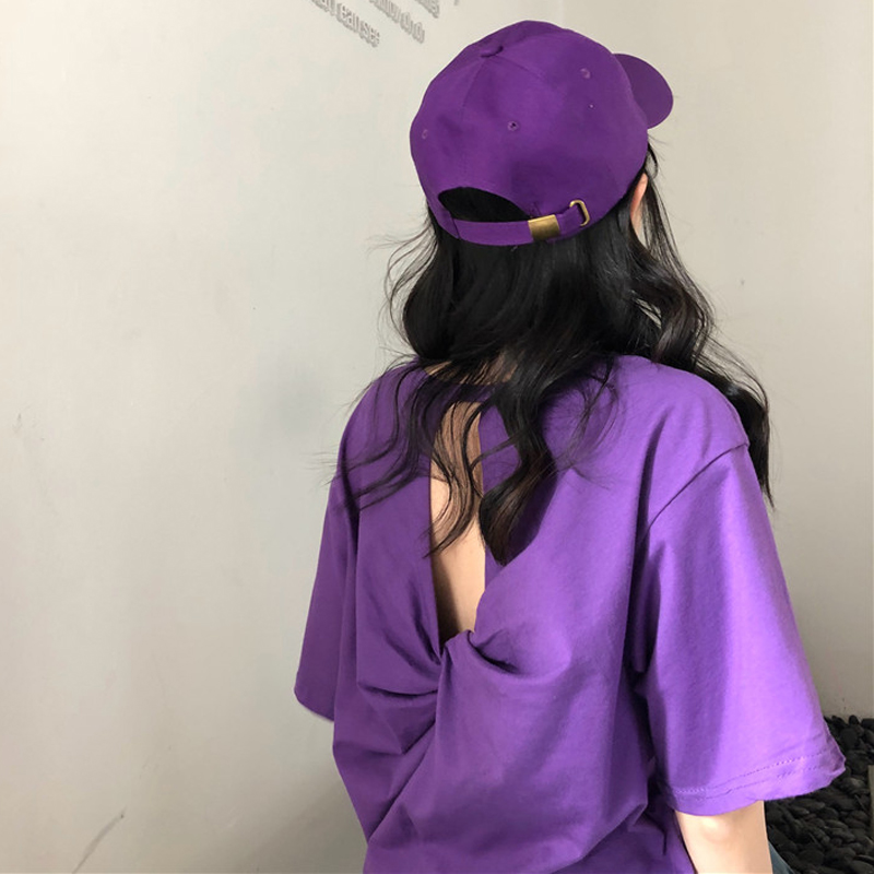韩版性感t恤女