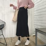 半身长裙显瘦长款修身