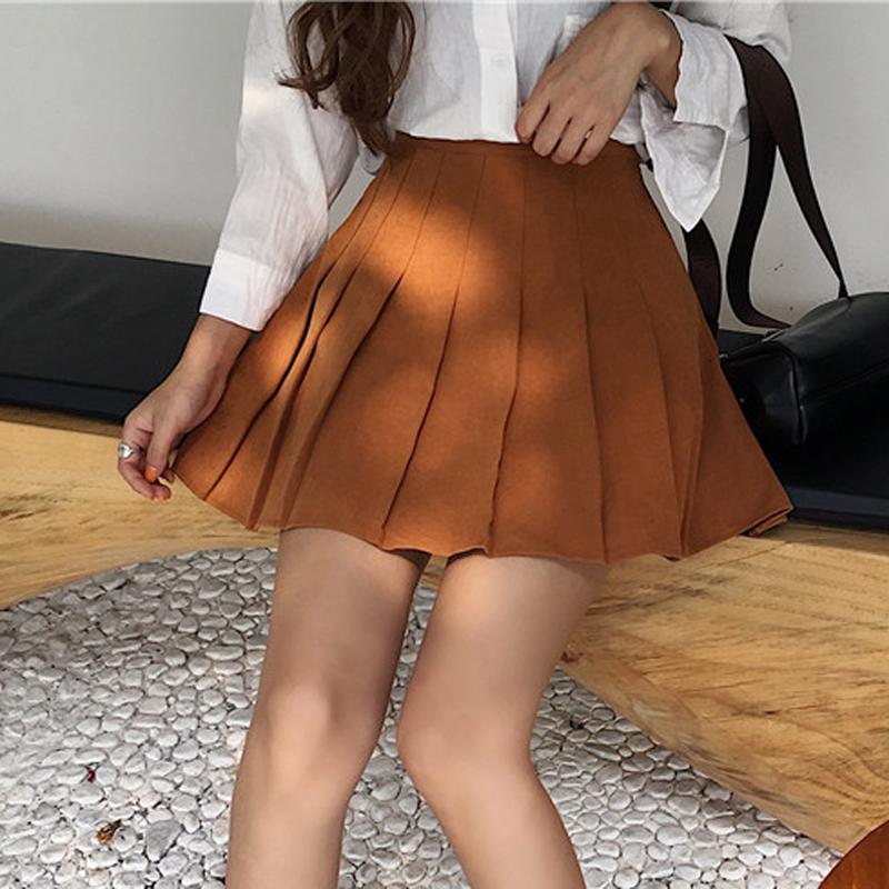 黑色加厚短裙