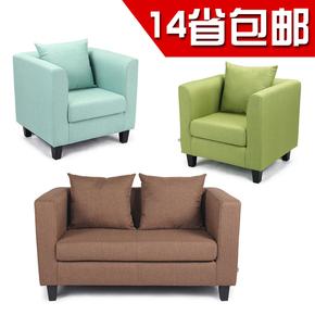 角落布艺沙发座椅大户型两用茶几创意桌子折叠时尚凳子单人美甲功