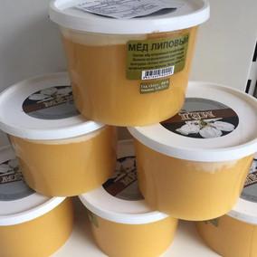 包邮进口俄罗斯原装椴树蜂蜜小金蜂百花1000克实惠装厂家直销