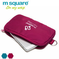 m square digital storage bag hard disk phone mobile digital power supply battery finishing package Korea zipper