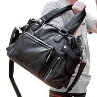 左森男包单肩包男士斜挎包时尚休闲韩版皮包手提包旅行包大容量潮