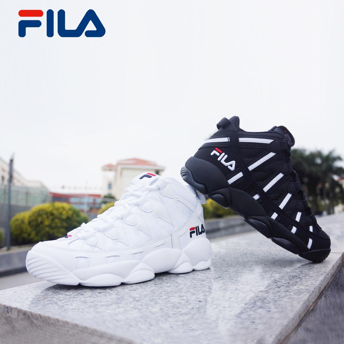 FILA斐乐BB鞋女鞋2018秋季新款经典篮球鞋运动鞋休闲鞋女