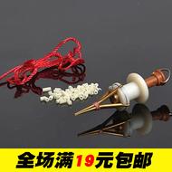 新品促销红虫夹子铜制上饵器专用打把器渔具鱼具钓具垂钓用品配件