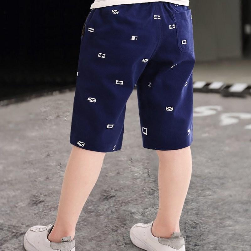 儿童七分纯棉短裤