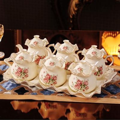 欧式创意陶瓷调味瓶罐调味盒调料罐调料盒套装厨房用品用具家用
