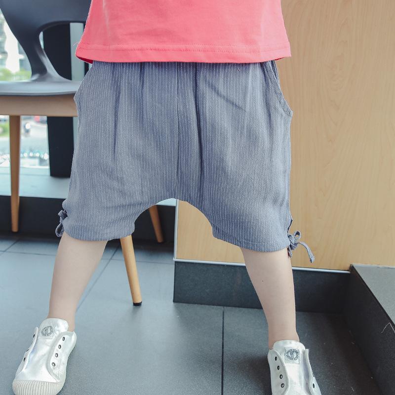 流行纯棉跨裤