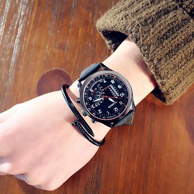 中国硬汉军表潮男表特种兵户外运动防水大表盘装饰时尚学生手表新