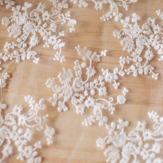 雪花棉布料