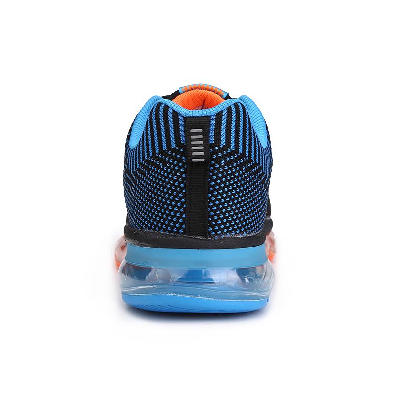 乔丹格兰男鞋全掌气垫跑步鞋轻便透气飞线运动鞋男时尚减震慢跑鞋