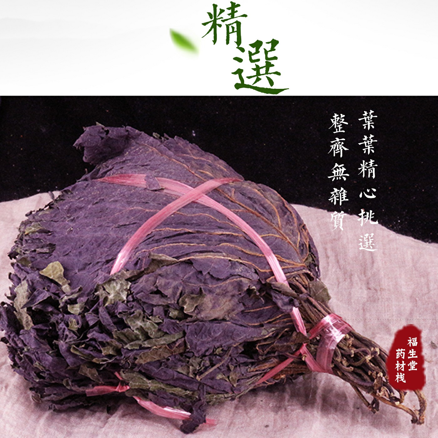 新鲜正宗野生紫苏叶干天然苏子叶干泡茶烧鱼虾蟹去腥食用香料500g