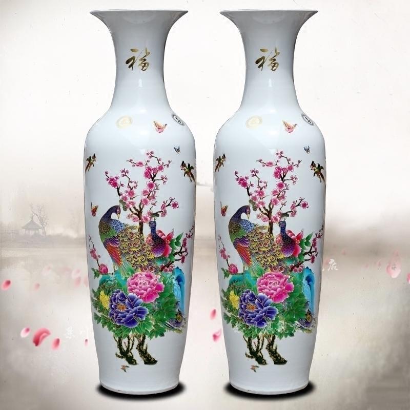 牡丹花瓶白