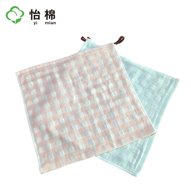 Yimian Yimian cotton four-layer gauze square towel gift towel 35*35