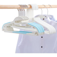 Hanger household plastic seamless multi-function wholesale non-slip clothing support hang clothes hook hanging clothes drying clothes rack