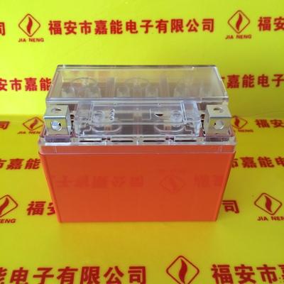 摩托车多功能显示屏USB插口UPS线路保护电子版免维护铅酸蓄电池壳