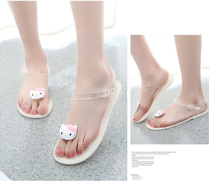 小熊塑料鞋