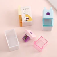 2019 new pencil sharpener Primary school pencil sharpener Good to use and easy to carry Boy and girl universal