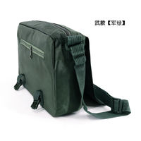 Genuine 07 挎 bag black outdoor shoulder bag 07 new green bag men's army camouflage bag system bag
