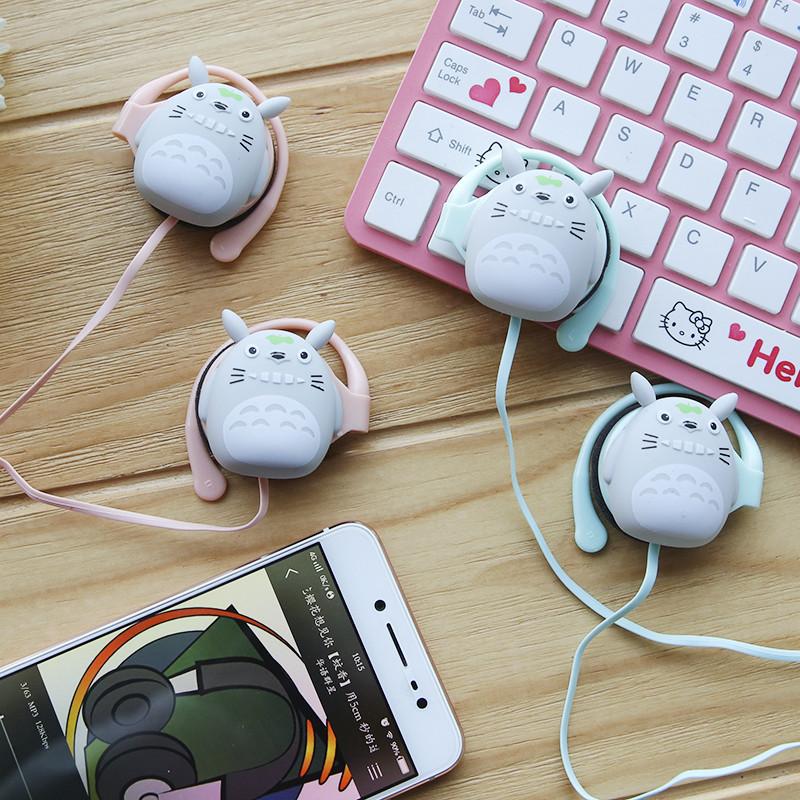 耳机可爱挂耳式