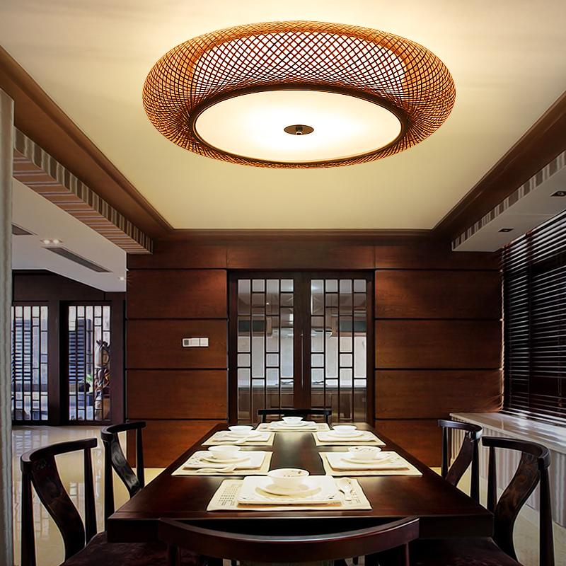 客厅装饰竹