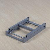 长方形高约60cm桌子腿可折叠简易折叠桌腿支架桌子架家用小桌子腿