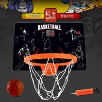 室内儿童篮球架篮球框智能电子投篮机篮球框自动计分篮球机玩具篮
