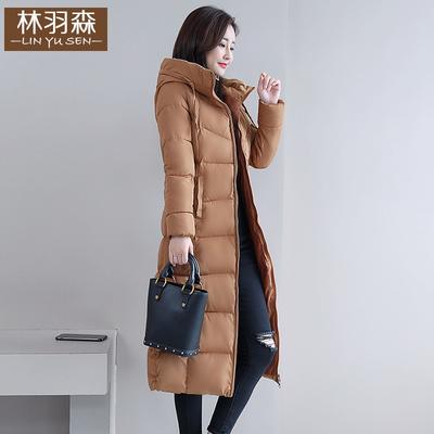 长款棉袄女冬韩版过膝2018新款长袄冬季女士棉服加厚大码中长棉衣