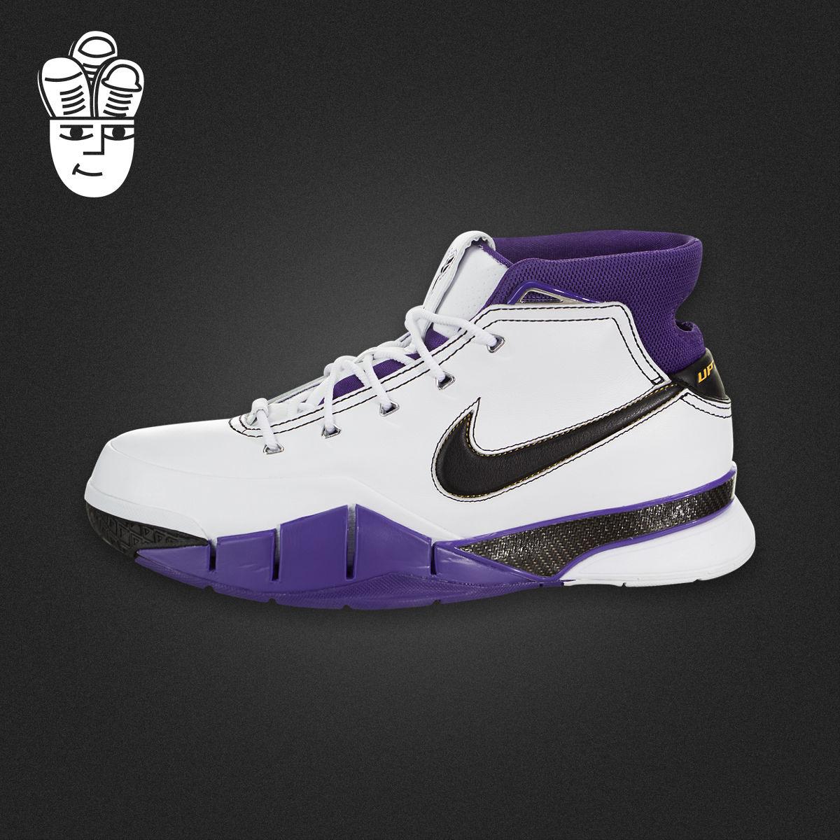 Nike Kobe 1 耐克男子篮球鞋 科比1代签名战靴 81分 aq2728-105