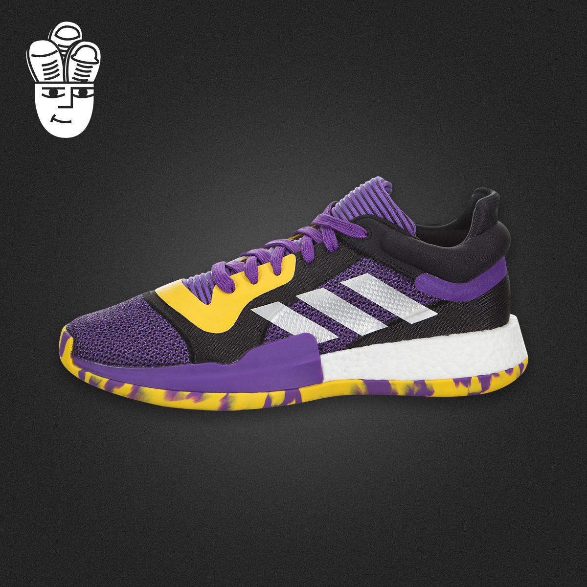 Adidas Marquee Boost Low阿迪达斯男鞋 全新高性能篮球鞋