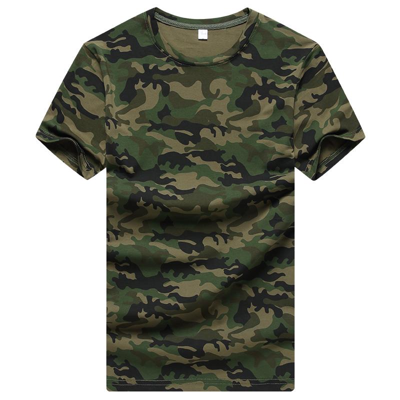 圆领女水兵舞迷彩T恤夏季全棉军装短袖男迷彩服长袖军迷特种兵511