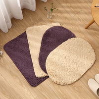 Bedroom door entrance door absorbent floor mats kitchen door mat bathroom bathroom mat bed side home long carpet mat
