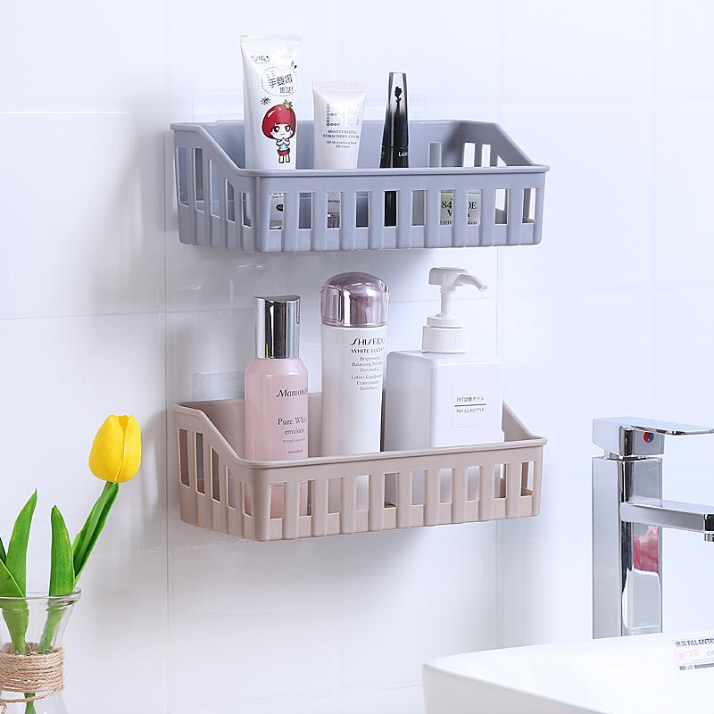 浴室挂墙储物架