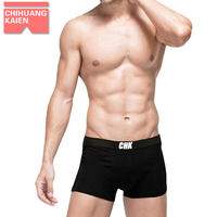 Full 3 attire underwear men's underwear men's underwear boyshort 100% cotton cotton short 骷髅 blue X